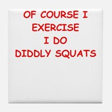 exercise Tile Coaster