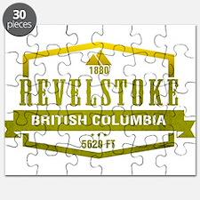 Revelstoke Ski Resort British Columbia Puzzle