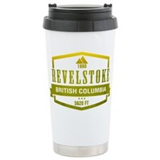 Revelstoke Ski Resort British Columbia Travel Mug