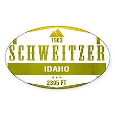Schweitzer Ski Resort Idaho Decal