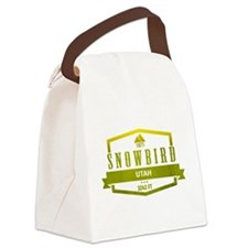 Snowbird Ski Resort Utah Canvas Lunch Bag