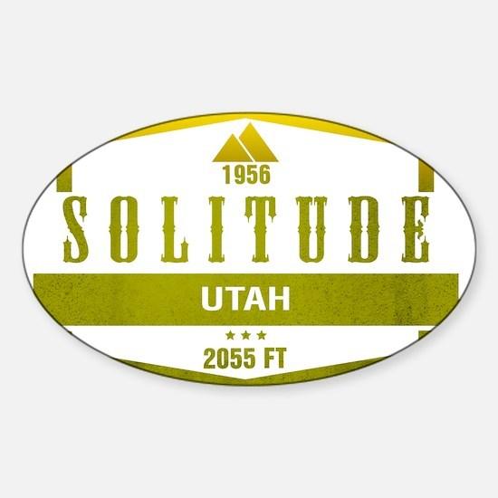 Solitude Ski Resort Utah Decal