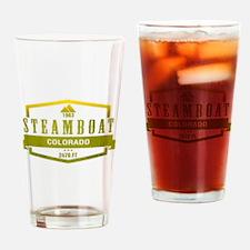 Steamboat Ski Resort Colorado Drinking Glass