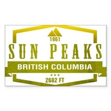 Sun Peaks Ski Resort British Columbia Decal
