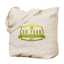 Sun Peaks Ski Resort British Columbia Tote Bag