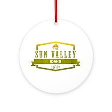 Sun Valley Ski Resort Idaho Ornament (Round)