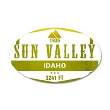 Sun Valley Ski Resort Idaho Wall Decal