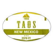 Taos Ski Resort New Mexico Decal