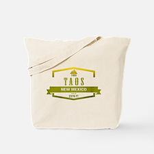 Taos Ski Resort New Mexico Tote Bag