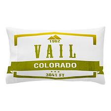 Vail Ski Resort Colorado Pillow Case