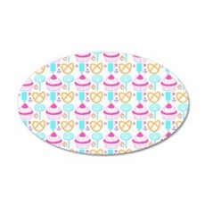 Colorful Cupcake Sweets Wall Decal