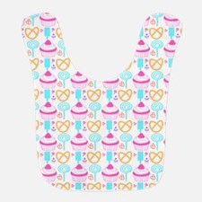 Colorful Cupcake Sweets Bib
