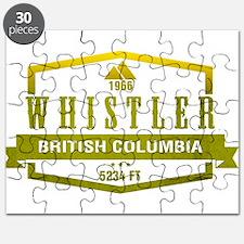 Whistler Ski Resort British Columbia Puzzle