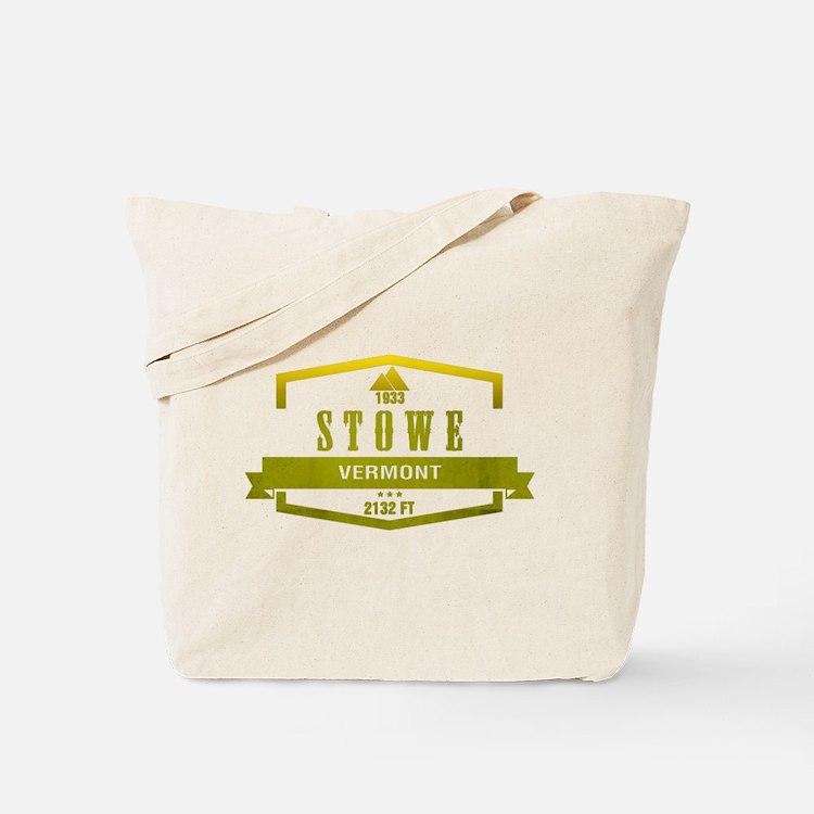 Stowe Ski Resort Vermont Tote Bag