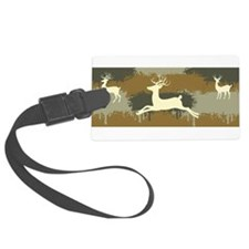 Camo Deers Luggage Tag