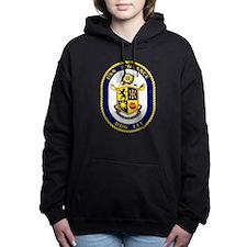 USS Spruance DDG 111 Women's Hooded Sweatshirt