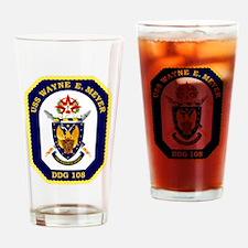 USS Meyer DDG 108 Drinking Glass