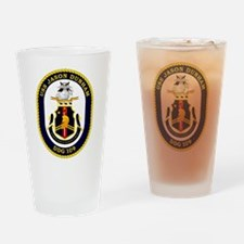USS Dunham DDG 109 Drinking Glass
