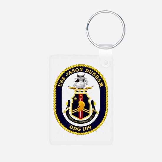 USS Dunham DDG 109 Keychains