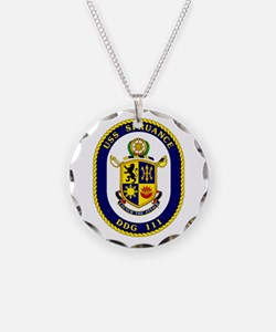 USS Spruance DDG 111 Necklace