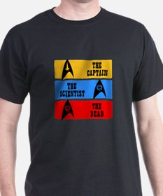 Captain Scientist Dead T-Shirt