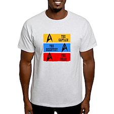 Captain Scientist Dead T-Shirt