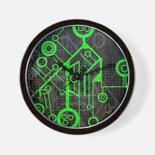 Unique La tech Wall Clock