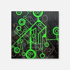 """Cool La tech Square Sticker 3"""" x 3"""""""