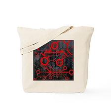 Cute La tech Tote Bag