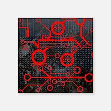 """Funny La tech Square Sticker 3"""" x 3"""""""