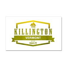 Killington Ski Resort Vermont Car Magnet 20 x 12