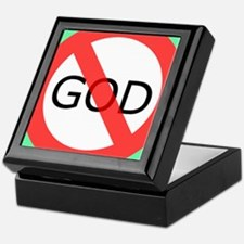 atheism Keepsake Box