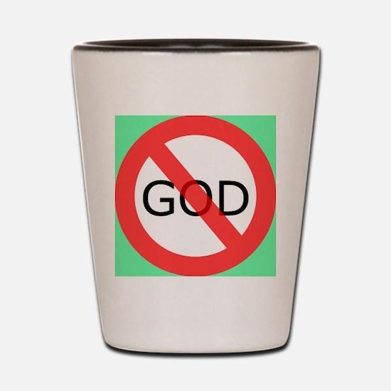 atheism Shot Glass