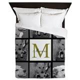 Monogram Luxe Full/Queen Duvet Cover