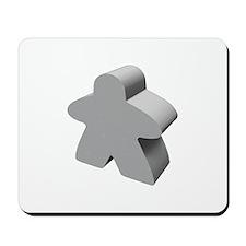 Gray Meeple Mousepad