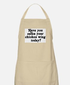 chicken wing today BBQ Apron