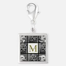 Beautiful Photo Block and Monogram Charms