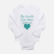 My Auntie Loves Me (Custom) Body Suit