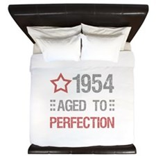 1954 Aged To Perfection King Duvet
