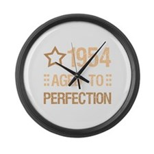 1954 Aged To Perfection Large Wall Clock