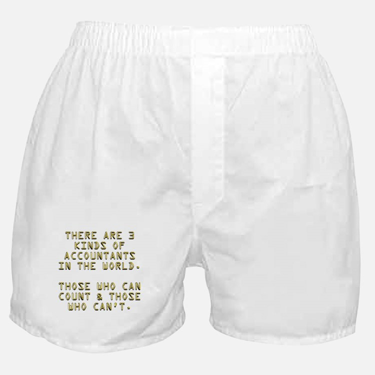 3 Accountants Boxer Shorts