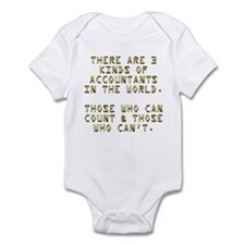 3 Accountants Infant Bodysuit