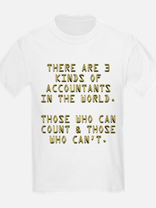 3 Accountants T-Shirt