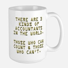3 Accountants Large Mug