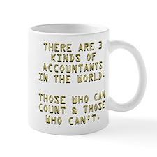 3 Accountants Small Mugs