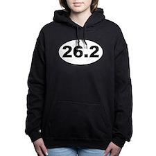 Cute 26.2 Women's Hooded Sweatshirt