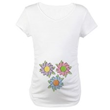 Pretty Mother's Day Cartoon Flowers Shirt