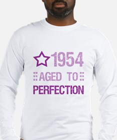 1954 Aged To Perfection Long Sleeve T-Shirt