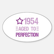1954 Aged To Perfection Decal