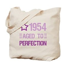 1954 Aged To Perfection Tote Bag